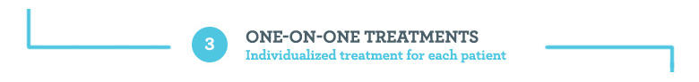 3. One on One Treatments